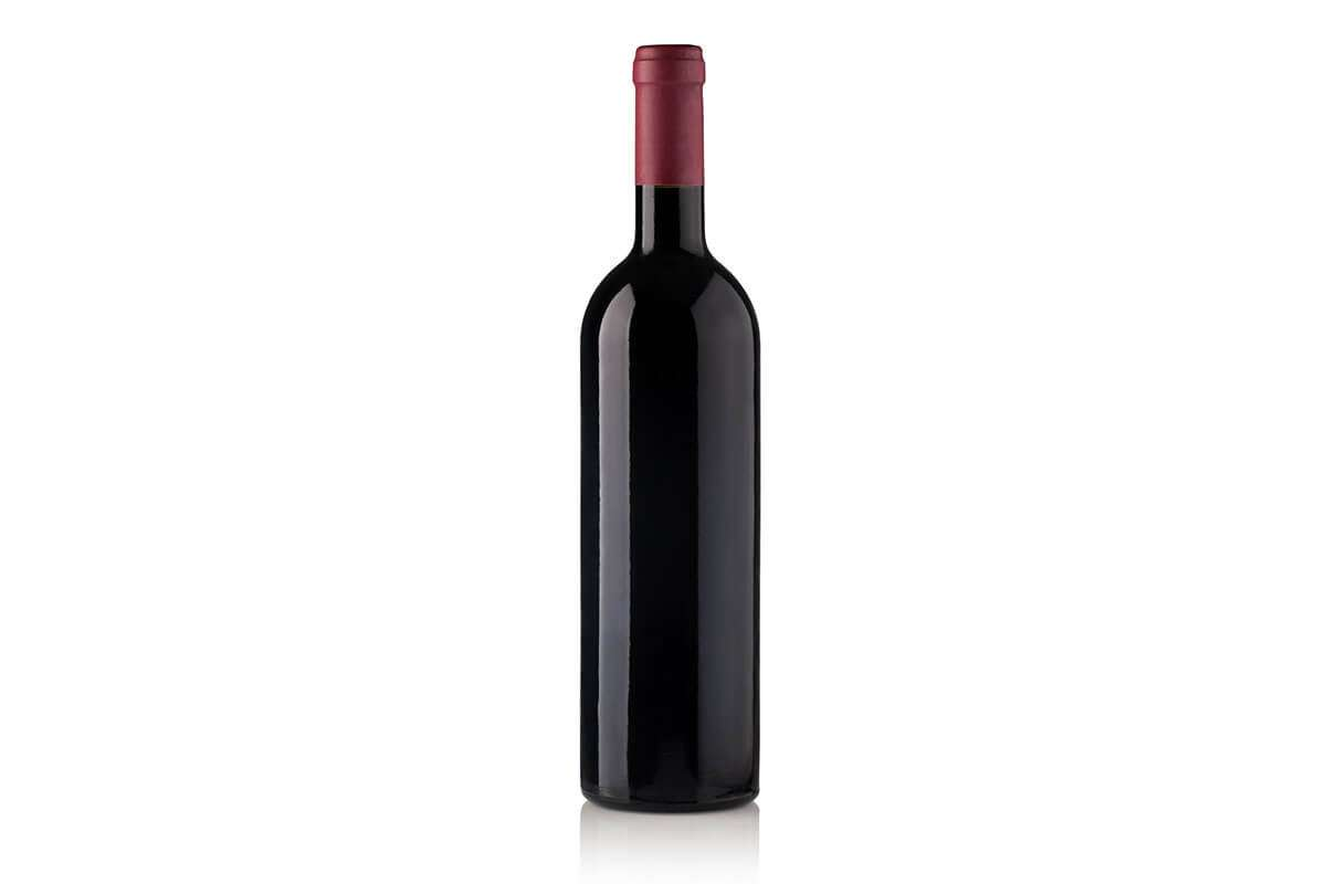 Bottle of House Red wine