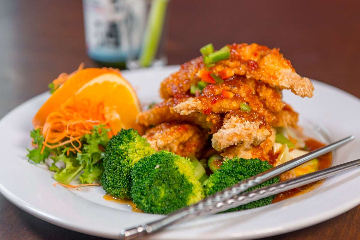 Pla Sam Rod (Triple Flavors Fish)