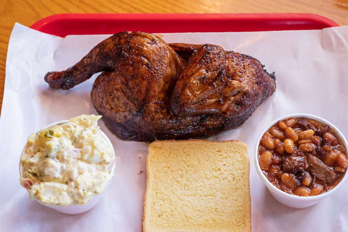 Smoked Chicken Platter