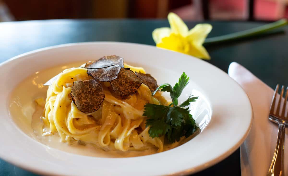 truffle pasta