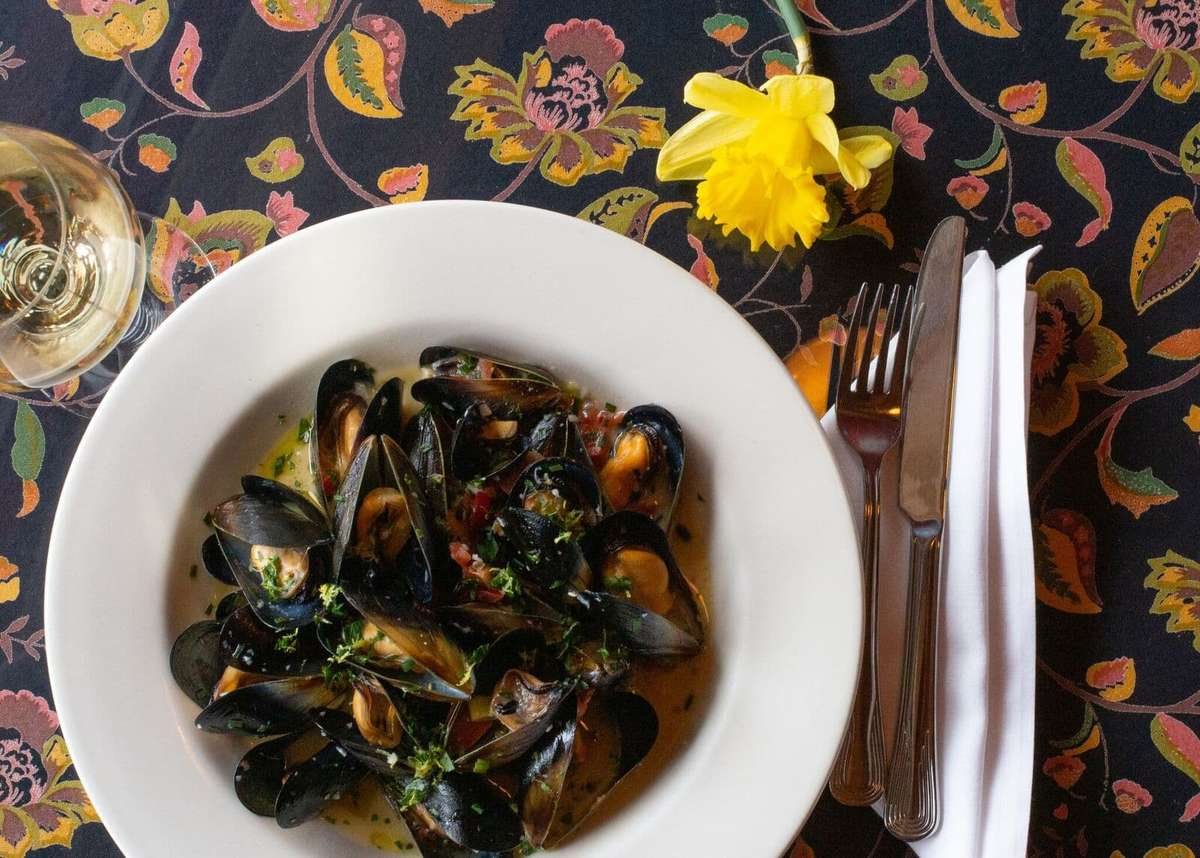 Steamed Mussels and/or Clams