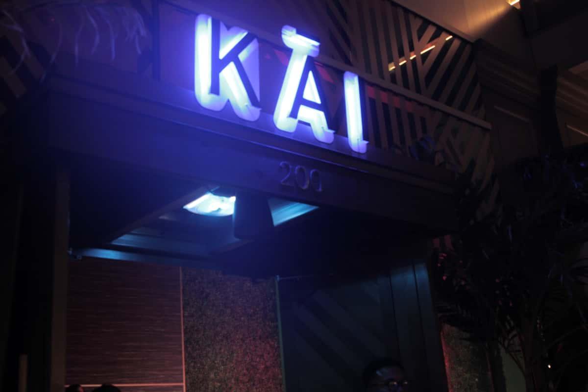 KAI front Door Sign