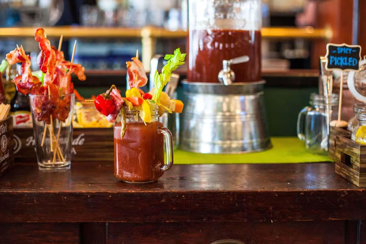 bloody mary bar