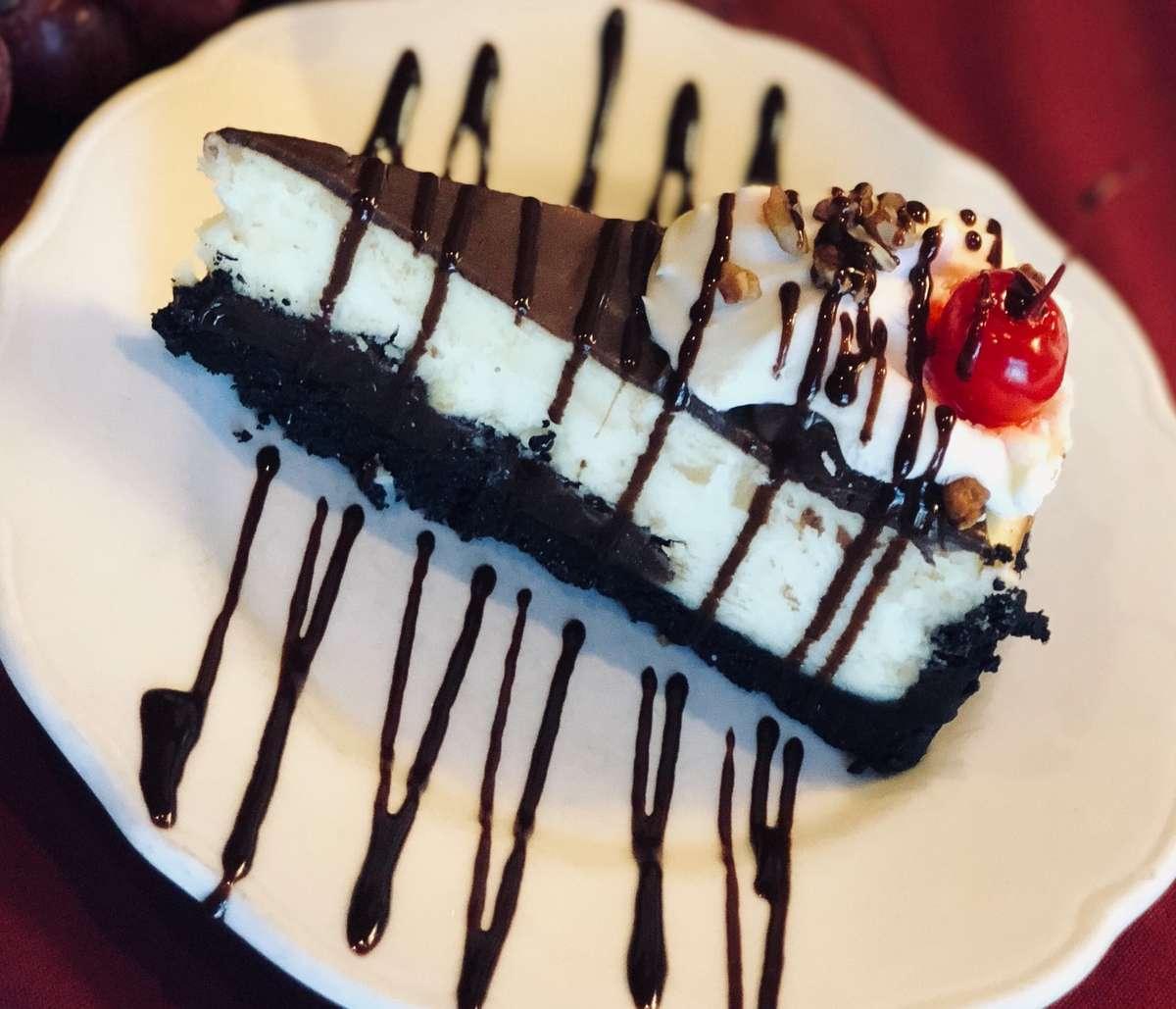 Chocolate Fudge Sundae Cheesecake