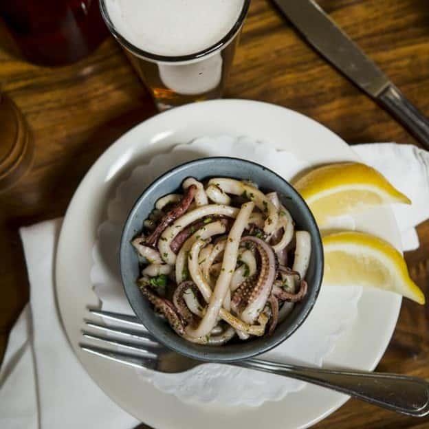 Sautéed Calamari