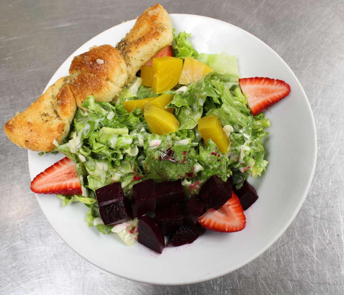 Roasted Beets & Berries Salad