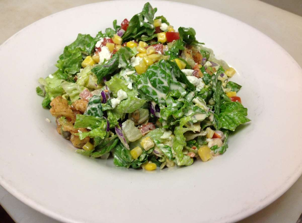 Baja Fried Chicken Salad