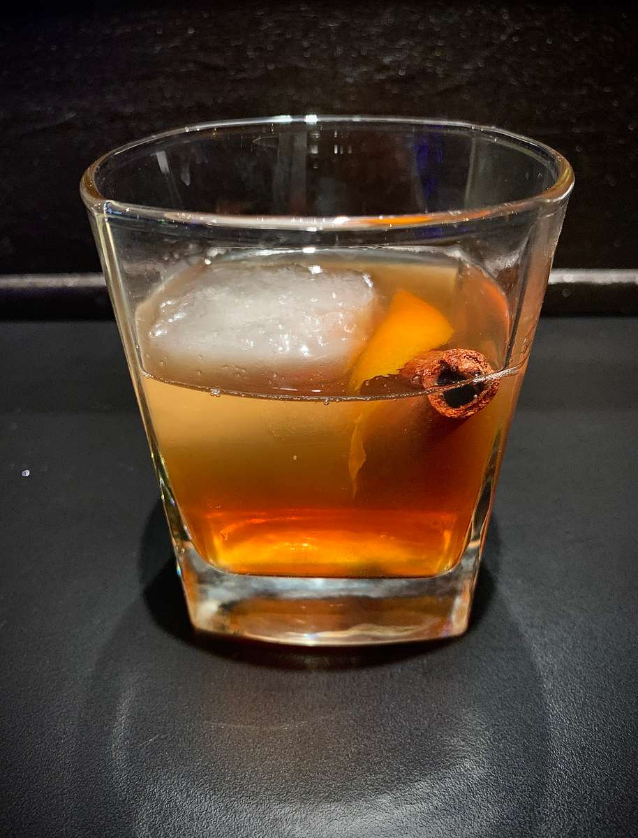 Apple Spice Old Fashioned