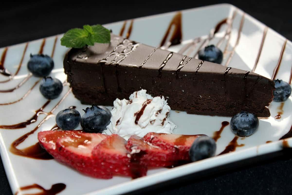 Flourless Triple Chocolate Torte