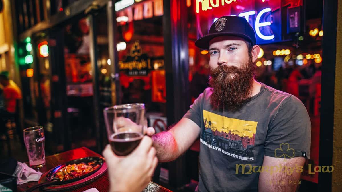 Beards and Beers club member