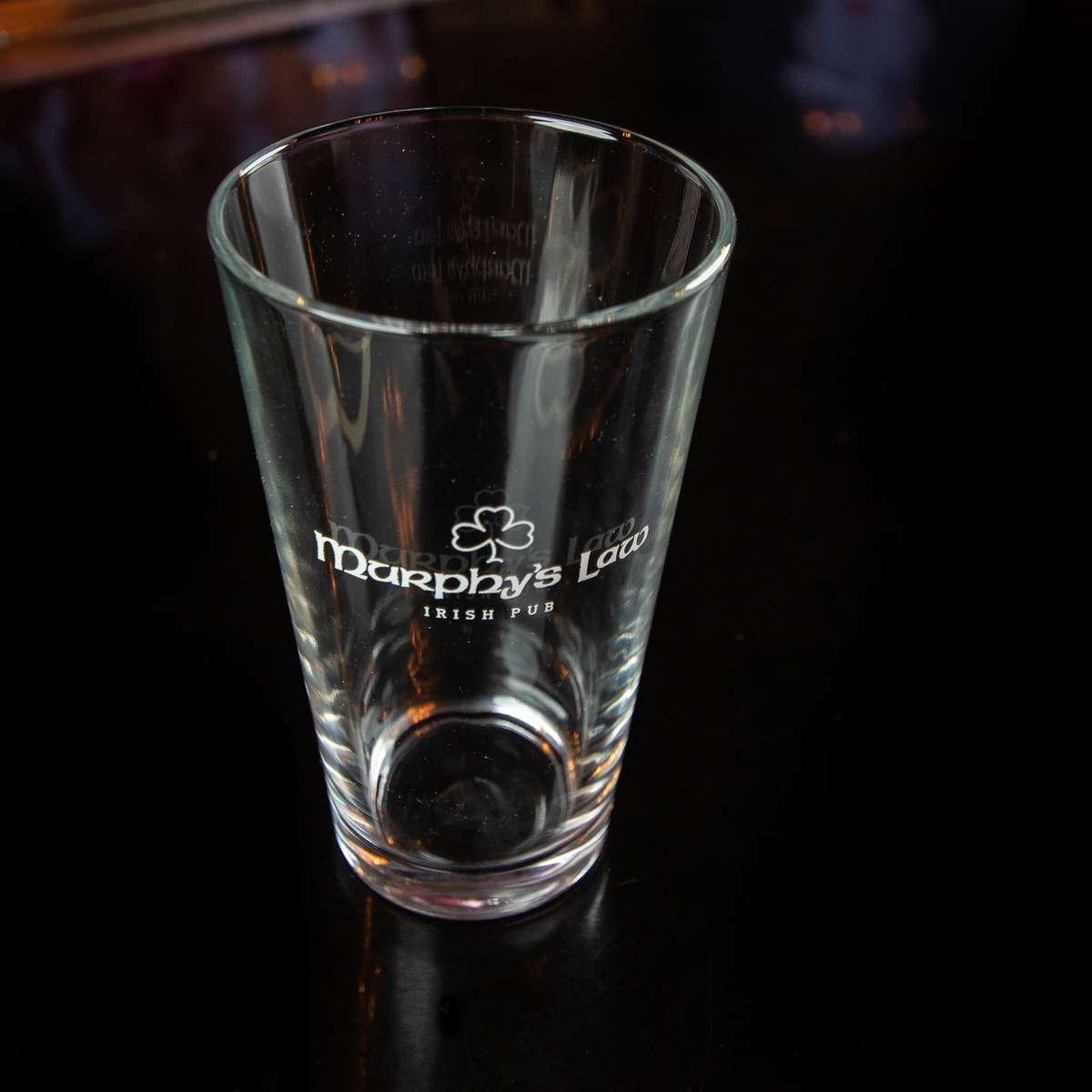 Murphy's 16oz Glass