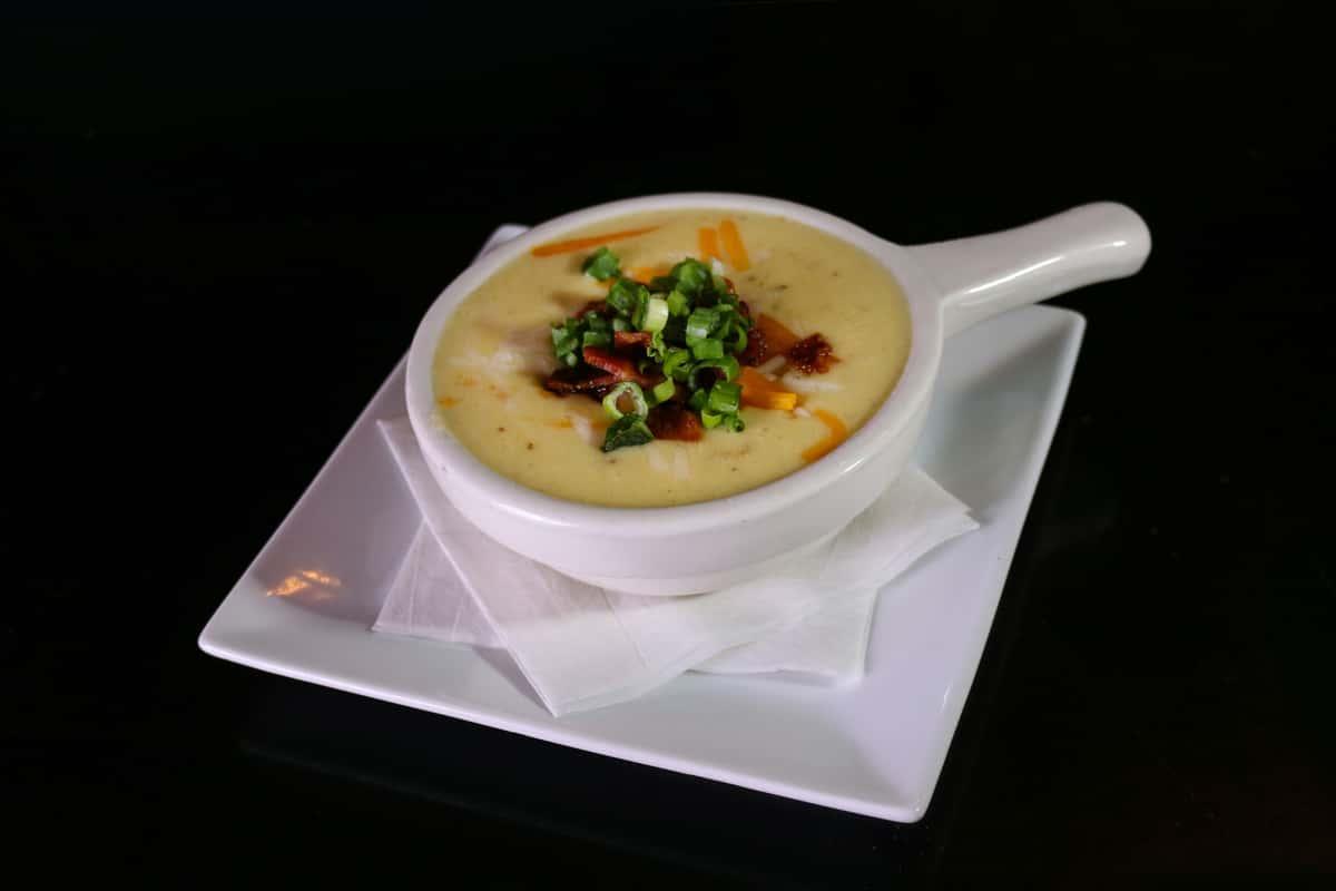 Loaded Cheesy Potato Soup