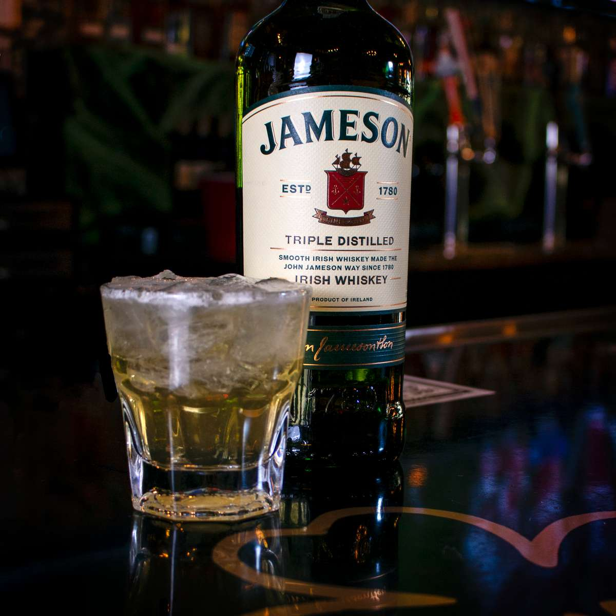 Jameson Green Tea Cocktail