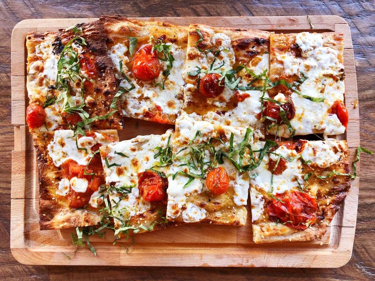 Oven Roasted Tomato + Basil