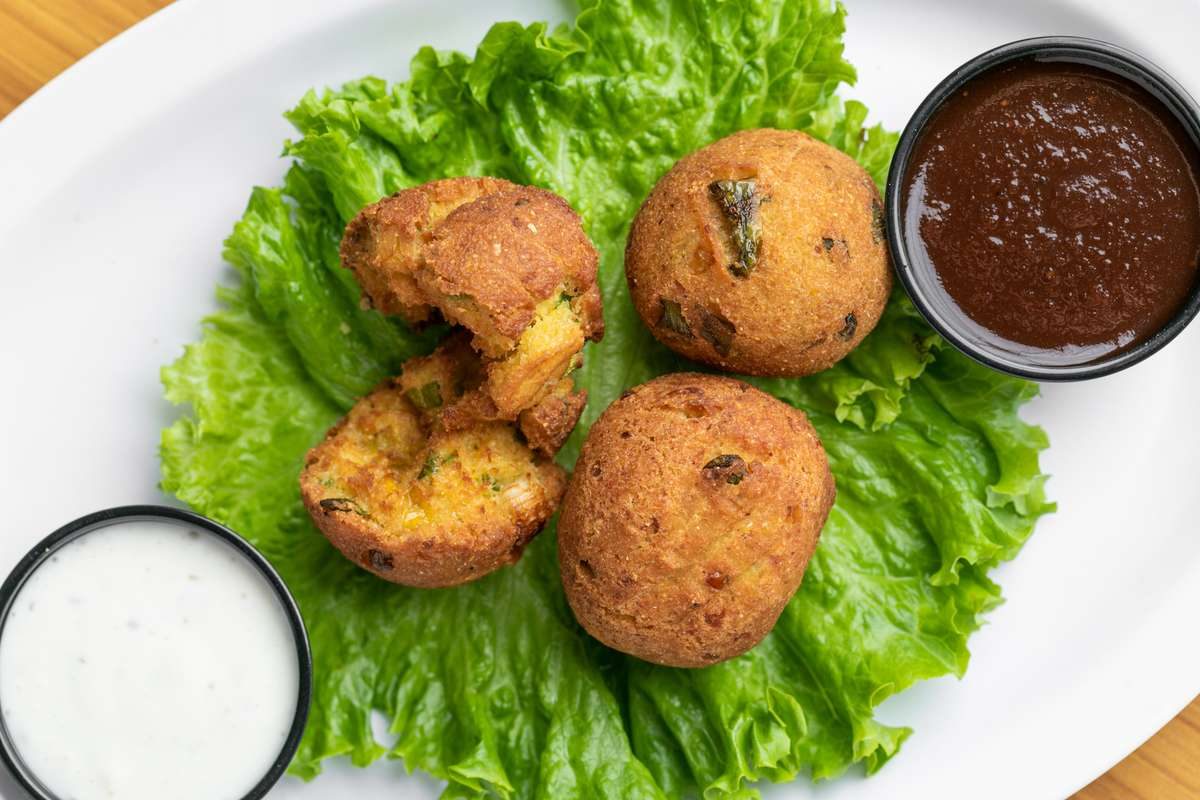 Sweet-N-Spicy Hush Puppies