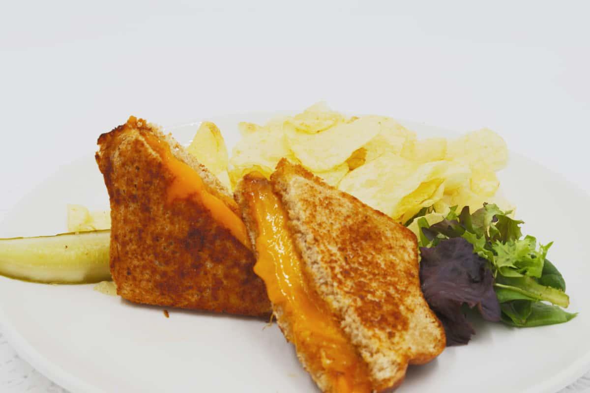 Kids Grilled Cheese Sandwich