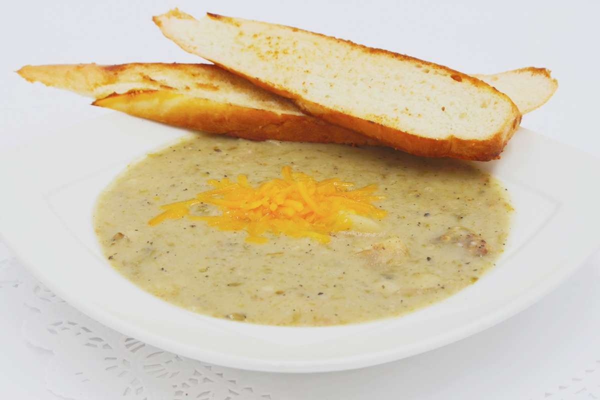 Green Chile Potato Soup