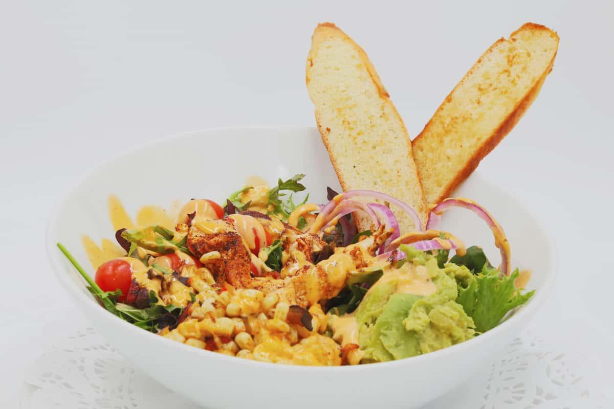 Southwest Blackened Chicken Salad