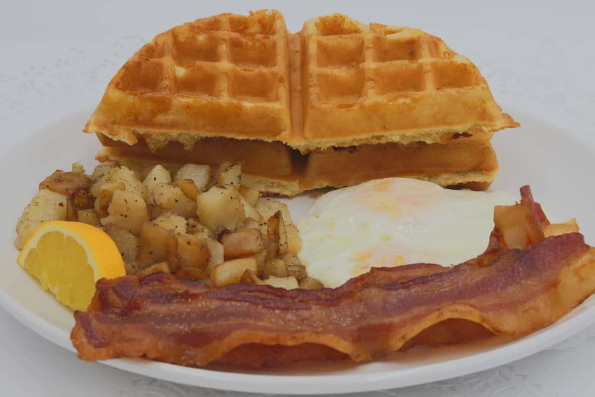 Belgian Waffle Sandwich