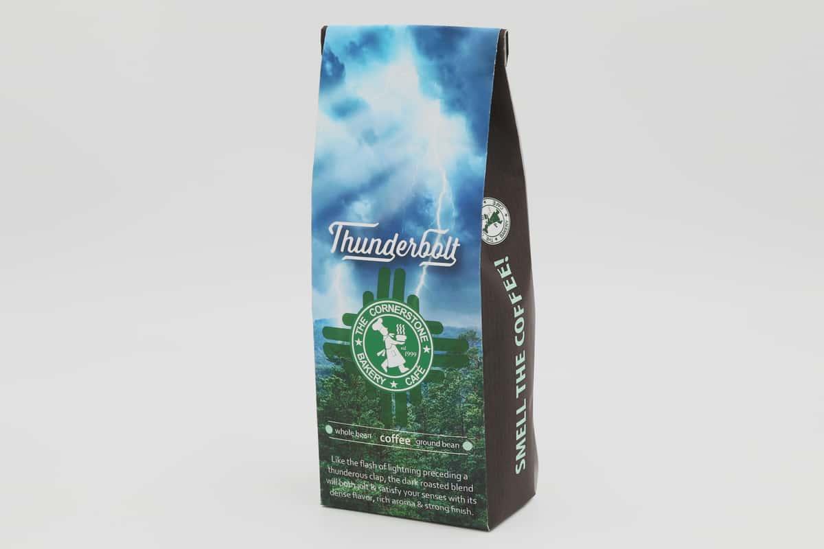 Ground Thunderbolt Coffee