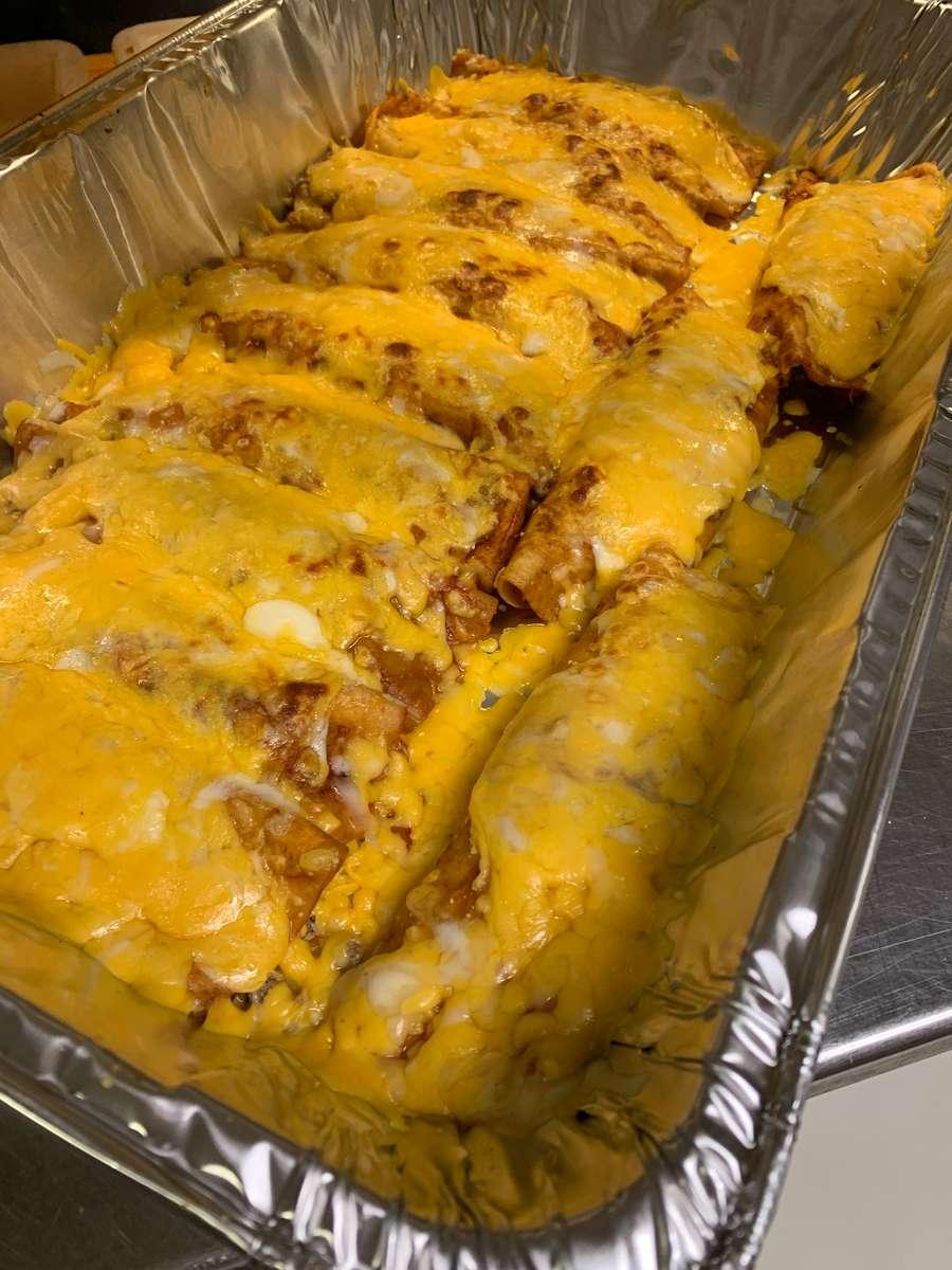 Dozen Beef or Chicken Enchiladas