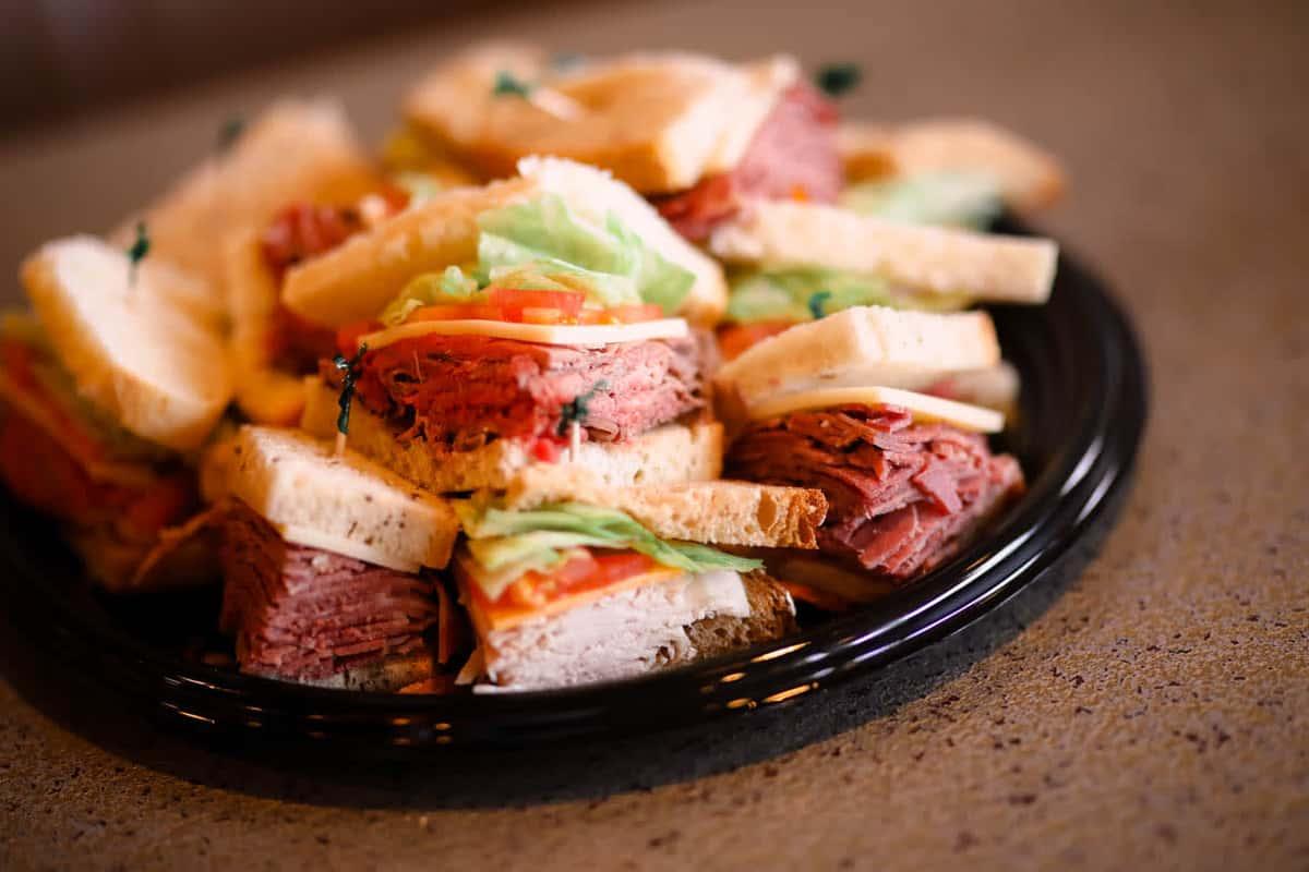 Mini Sandwich Platter