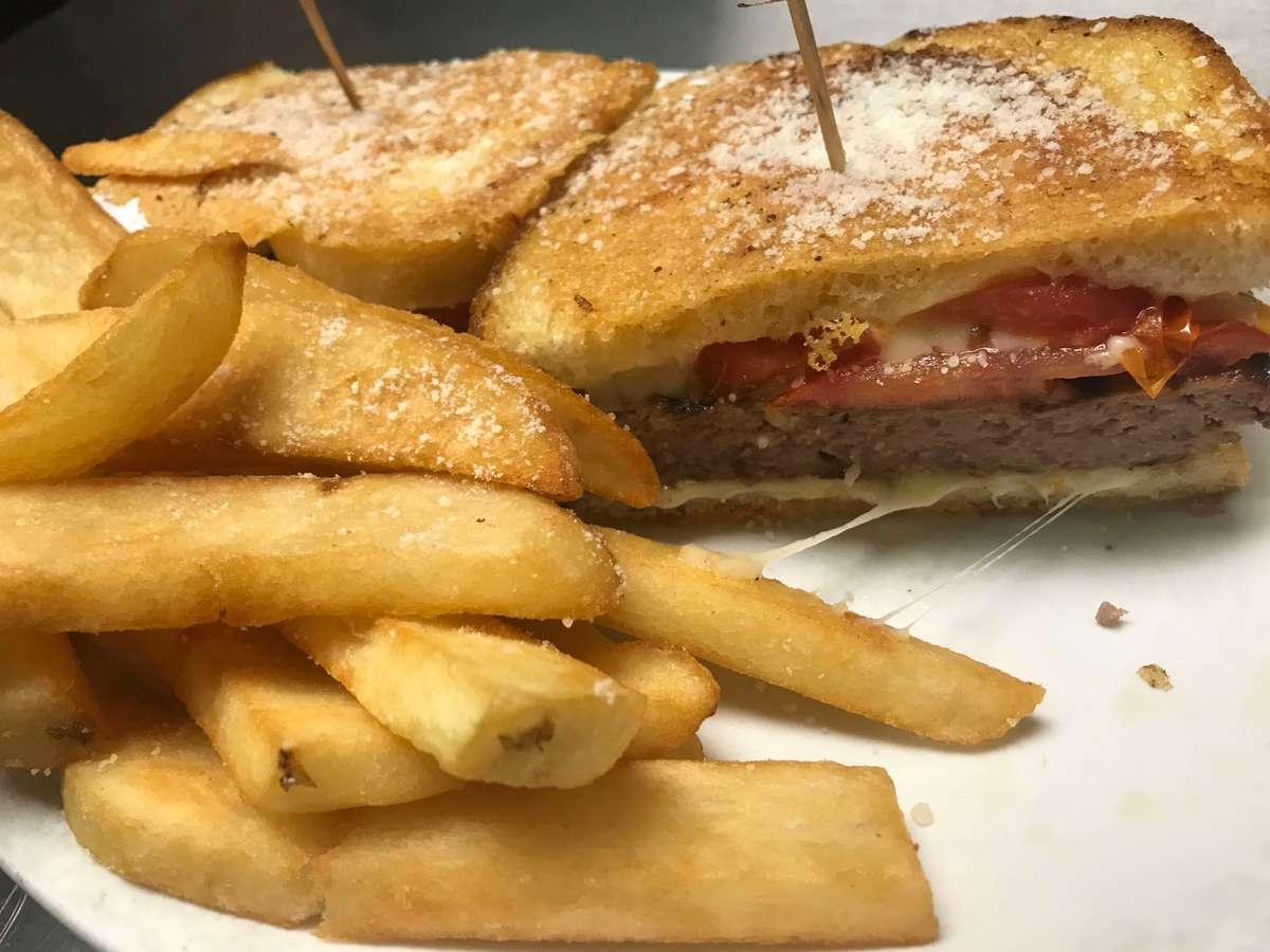 71. Frisco burger Half pound burger