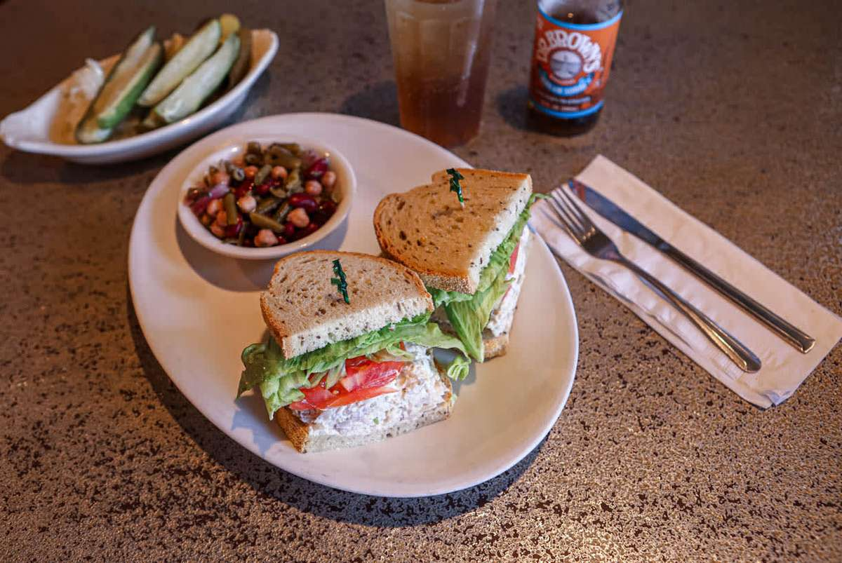 98. tuna salad (white albacore)