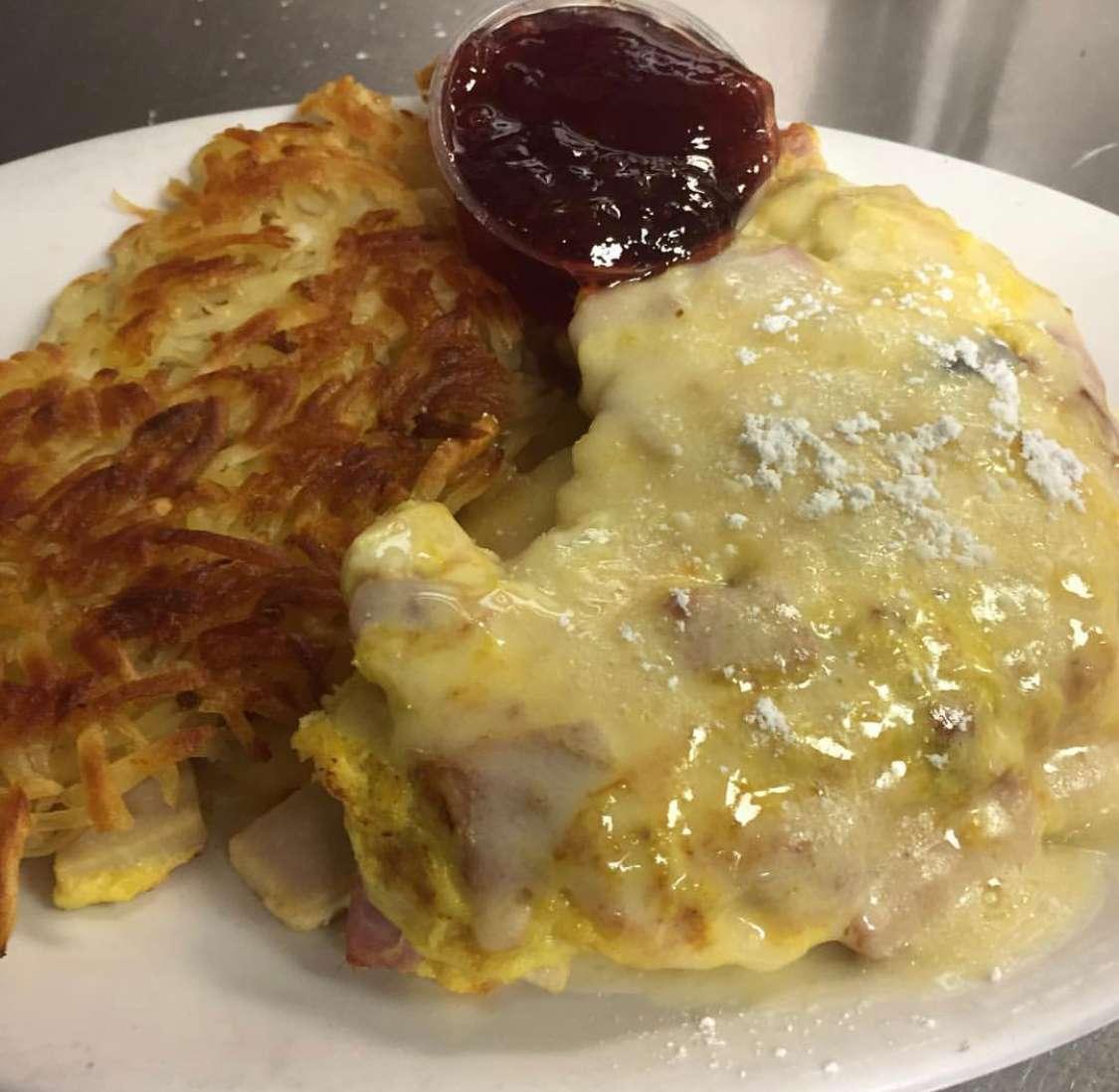 Monte Cristo omelette