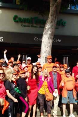 """""""Walk With The Mayor"""" Visits Coral Tree Beverly Hills!"""