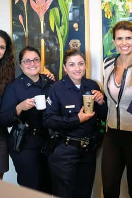 LAPD: Coffee With a Cop