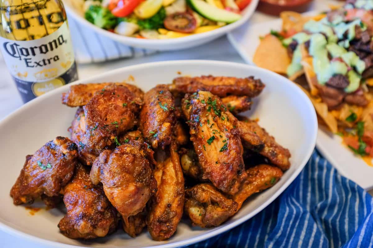 Air-Fried Jidori Chicken Wings
