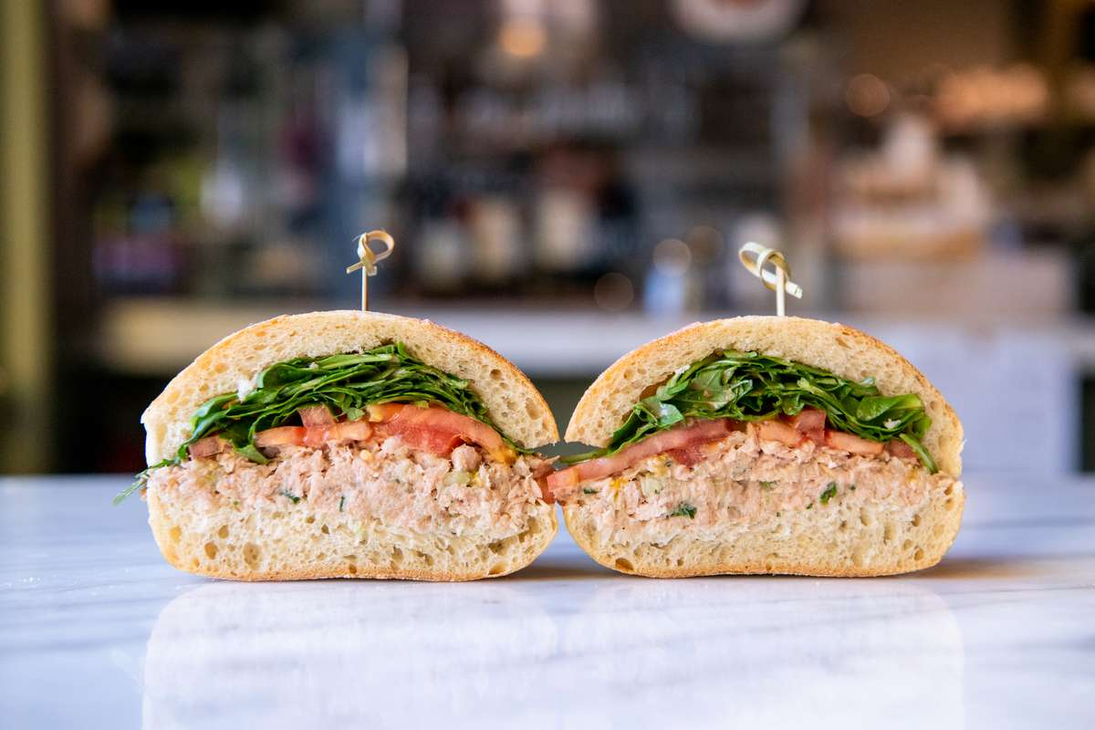 Tuna Salad Sandwich (No Mayo)