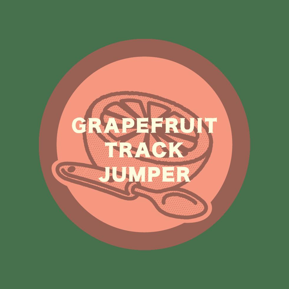 grapefruit track jumper