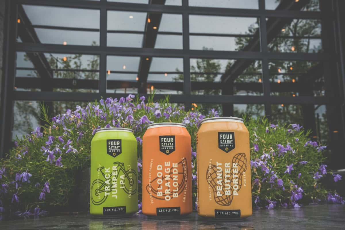 beers in garden