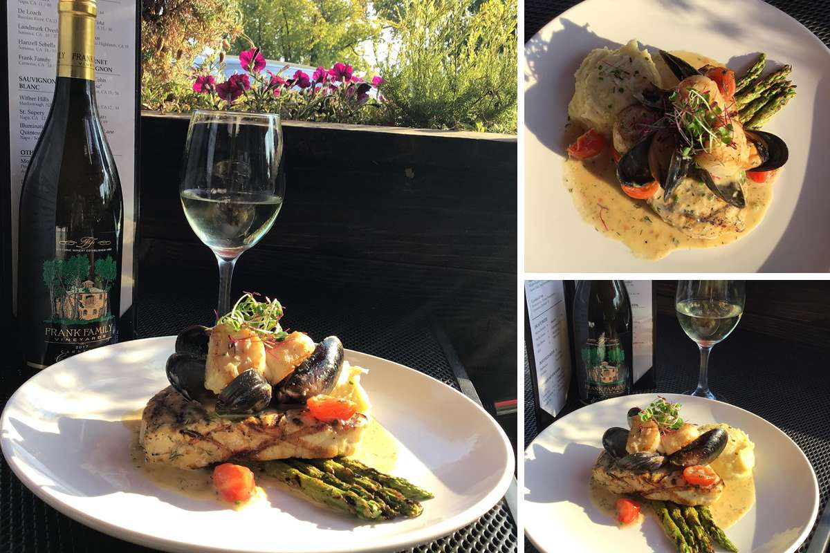 Grilled swordfish with grilled Asparagus
