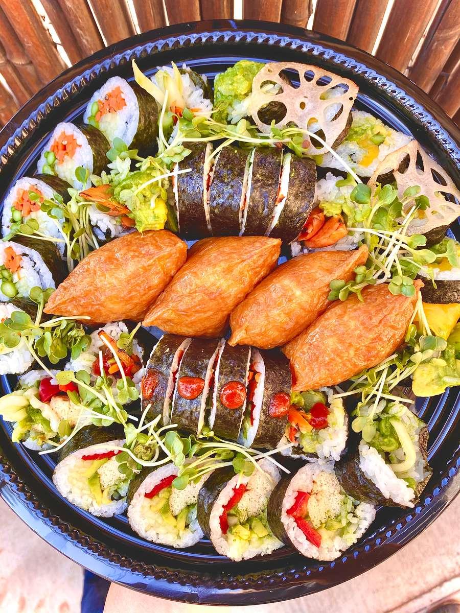 Vegan Sushi Tray