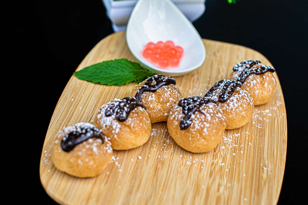 Japanese Cream Puffs (3pcs)