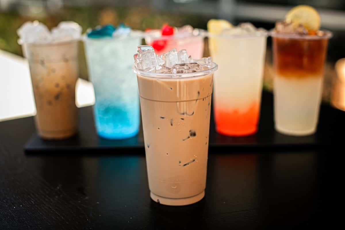 Iced Hokkaido Milk Tea
