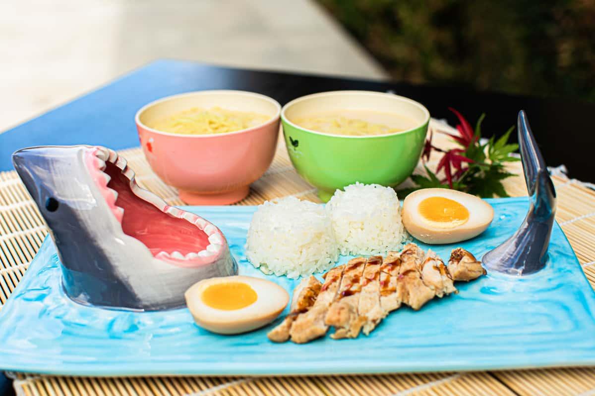 Kid Chicken Katsu rice