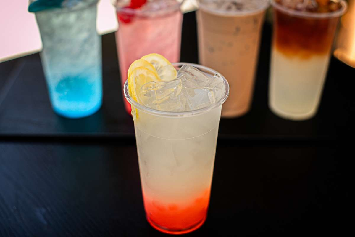 Rainbow Jelly Lemonade