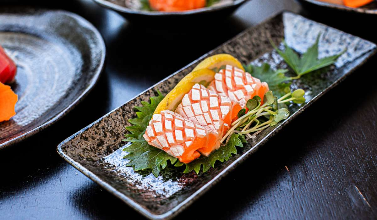 Belly Salmon Sashimi