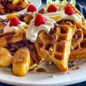 "The ""Elvis"" Waffle (910 cal)"