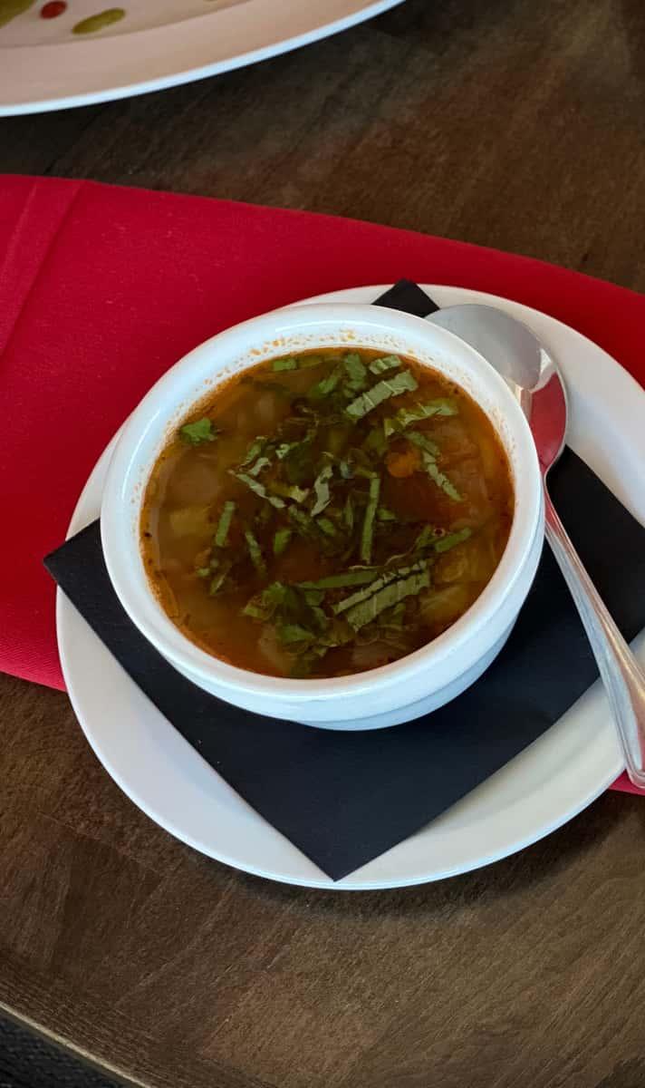 Garden Fresh Lentil Soup (95 Calories)