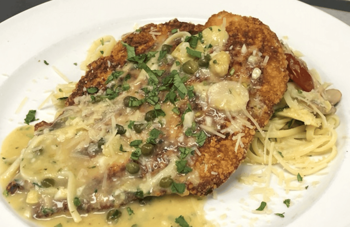 Pan Seared Chicken Piccata