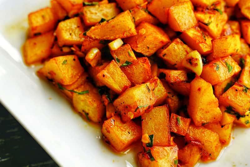 Spicy Potatoes