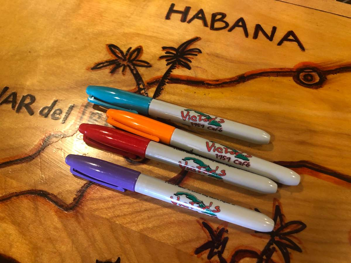 Colored Logo Sharpies