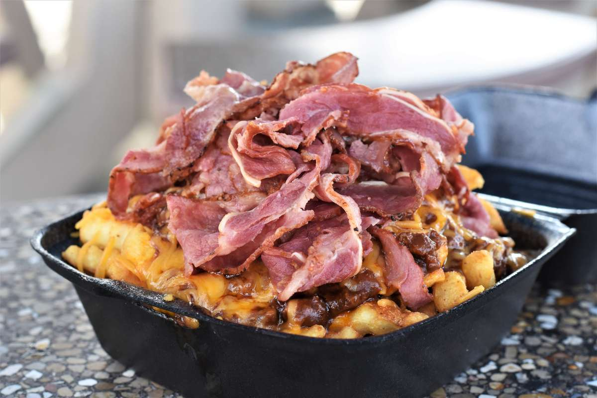 Pastrami Chili Cheese Fries