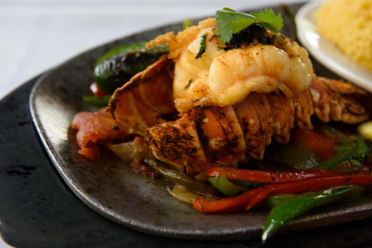 Lobster Tail Fajita