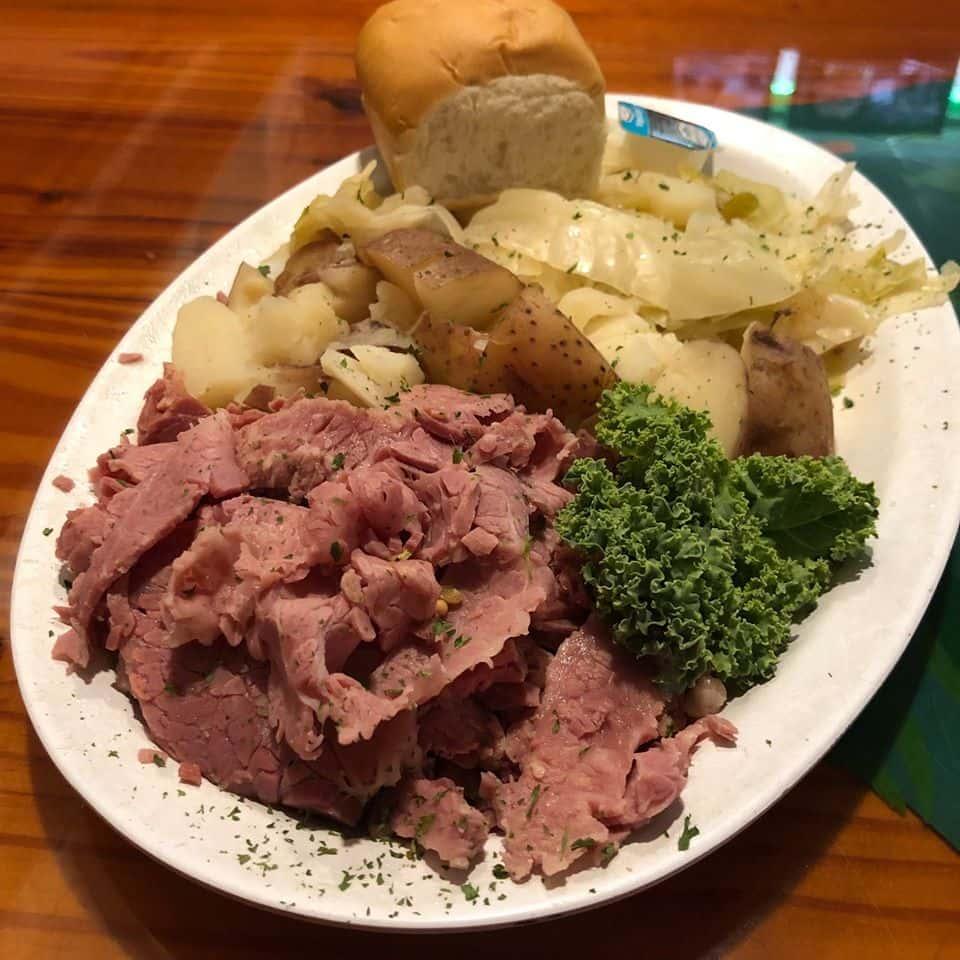 beef, broccoli, and potatoes